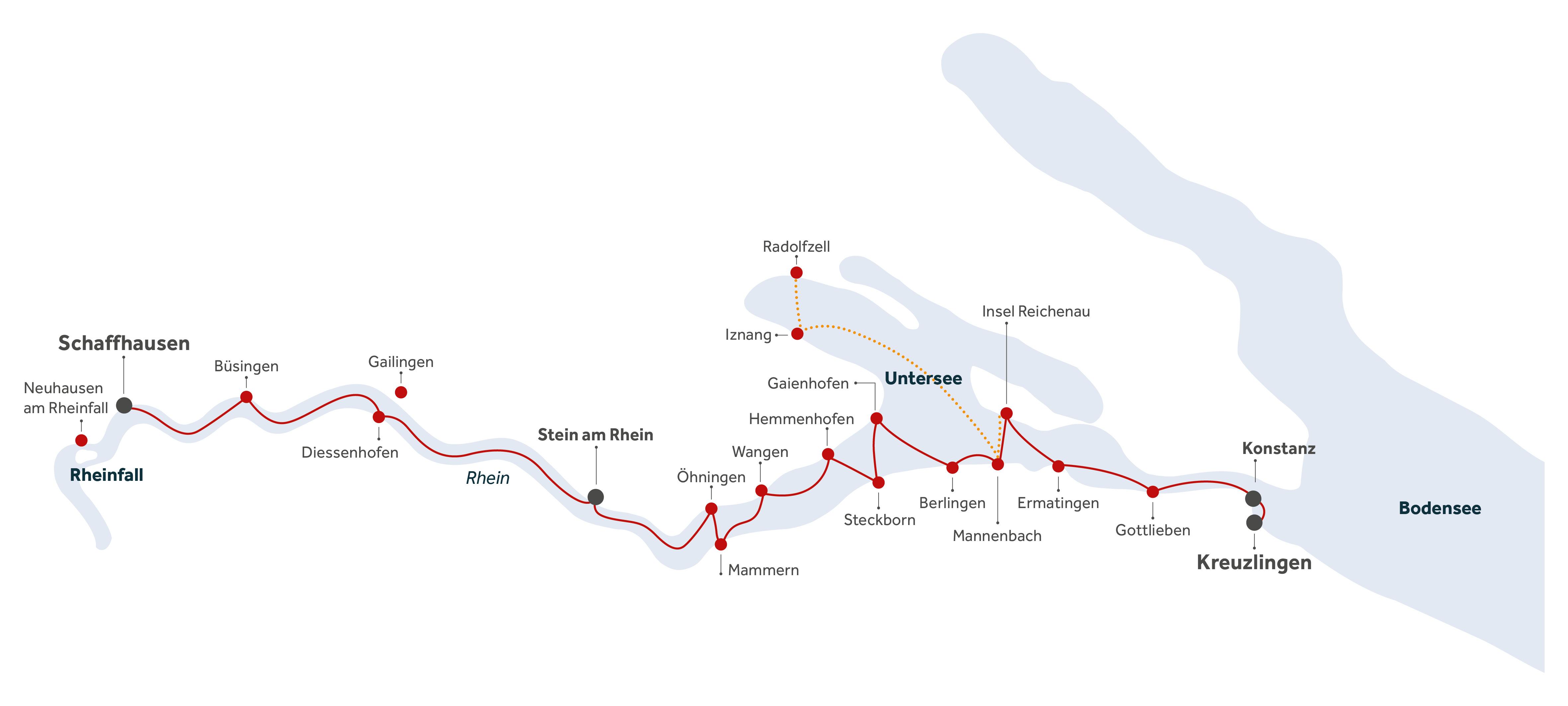 Streckenplan URh