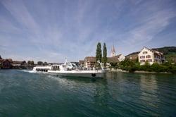 MS Munot vor Stein am Rhein